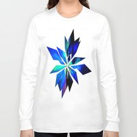 crystals Long Sleeve T-shirts featuring Crystals by Renaissance Youth