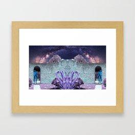 Binary Portal to the Maximum Universe Framed Art Print
