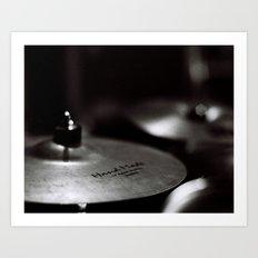 Cymbal Art Print