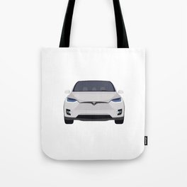 Tesla Model X Tote Bag