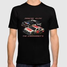The #Earnhardt's at #Daytona Mens Fitted Tee Black 2X-LARGE