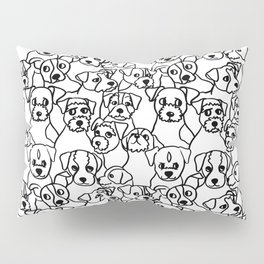 Oh Jack Russell Terrier Pillow Sham