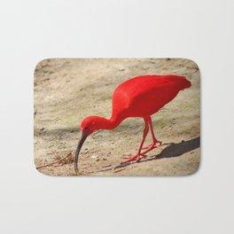 Scarlet Ibis Bath Mat
