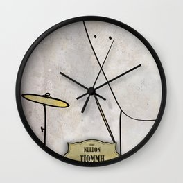 Tiomh from Nullom (drum) Wall Clock
