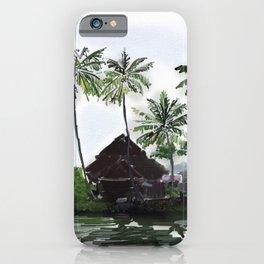 83 - Kerala scenery- Alleppey backwaters iPhone Case
