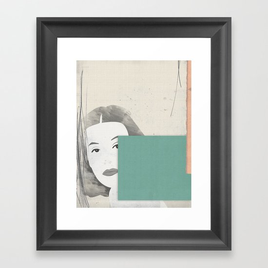Hedy Framed Art Print