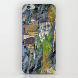 1883 - Paul Cezanne - Houses in Provence, The Riaux Valley near L'Estaque iPhone Skin