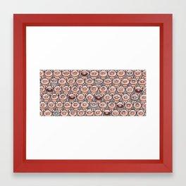 pigs Framed Art Print
