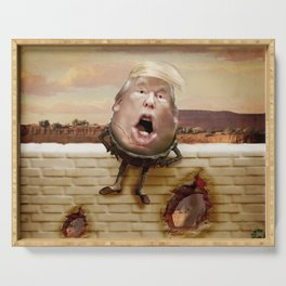 Trumpty Dumbty Serving Tray