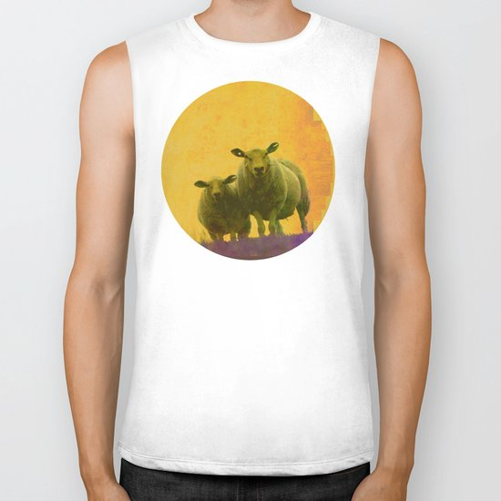 mother and child Biker Tank