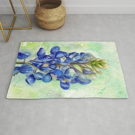 Texas Bluebonnets Rug