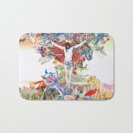 The Axis Mundi  Bath Mat