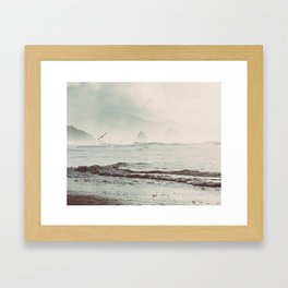 Great American Road Trip - Oregon Coast Framed Art Print