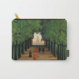Henri Rousseau - The Avenue in the Park at Saint Cloud Carry-All Pouch