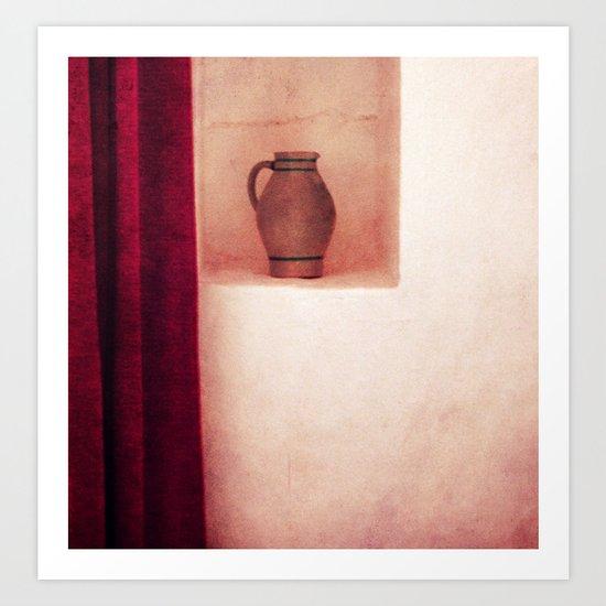 Grey jug Art Print