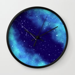 Way to the stars Wall Clock