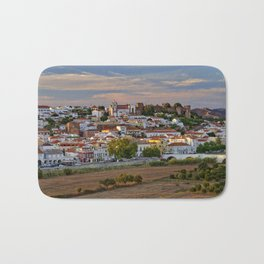 Silves in evening light, Portugal Bath Mat