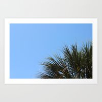 Charleston Palm Art Print