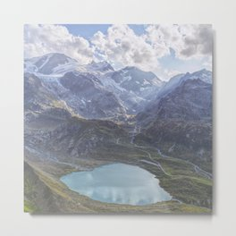 Heart Lake Metal Print