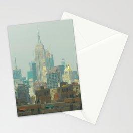 New York City Skyline Photograph Stationery Cards