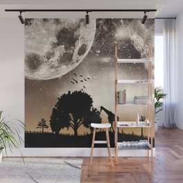 Nature silhouettes Wall Mural