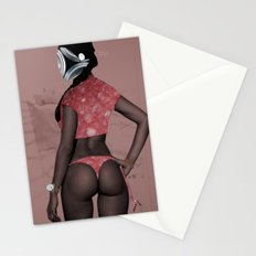 Fleisches Lust 5 - meat collage Stationery Cards