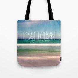 LOVE THE OCEAN II Tote Bag