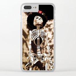 La Catrina Clear iPhone Case