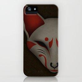 Kitsune Kabuki iPhone Case