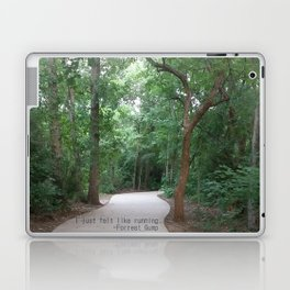 I just felt like running. Laptop & iPad Skin