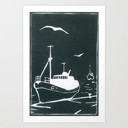 Comrades in Grey Art Print