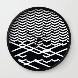 defragmentation Wall Clock
