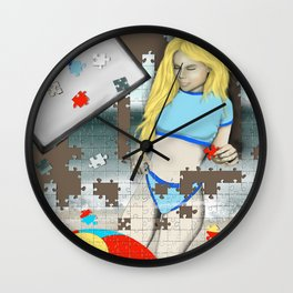 Puzzle Me This Wall Clock