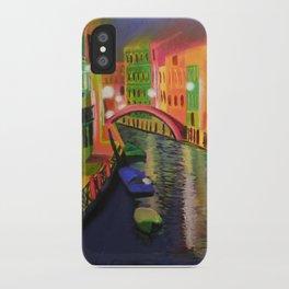 Siskins Venice a la Moi iPhone Case