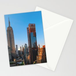 manhattan afternoons Stationery Cards