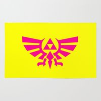 triforce Area & Throw Rugs featuring Contrast Triforce by Rebekhaart