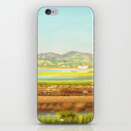 SPRING COLORS IN SALINAS iPhone Skin