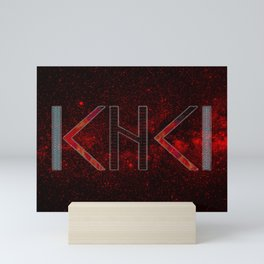 Mirror rune protection Mini Art Print