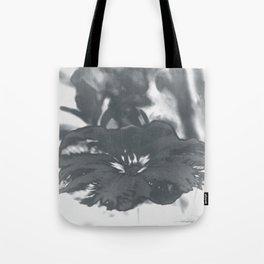 Bloom in Platinum Tone Tote Bag
