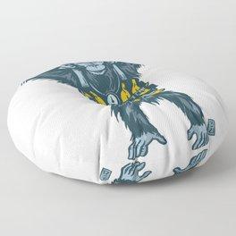 Banana Bomber Floor Pillow