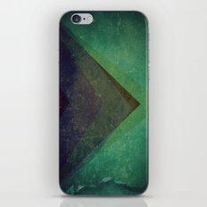 Muted Pyramids iPhone & iPod Skin