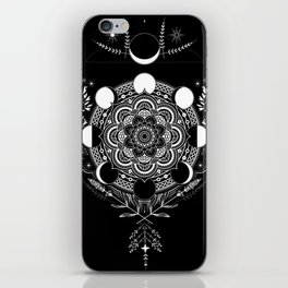 Moon Mandala iPhone Skin