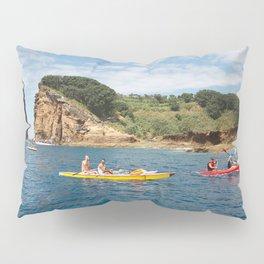 Kayaking in Azores Pillow Sham