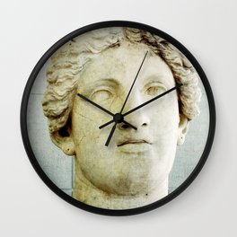 Male Roman Sculpture Wall Clock