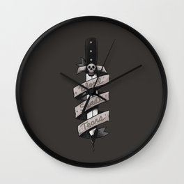 Blood, Sweat and Tears Wall Clock
