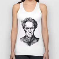 clint eastwood Tank Tops featuring Clint Eastwood by Oriane Mlr