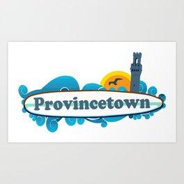 Provincetown - Cape Cod. Art Print