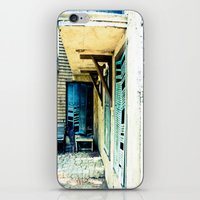 rustic iPhone & iPod Skins featuring Rustic by Kim Ramage