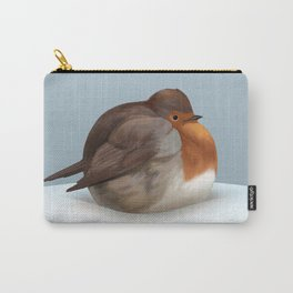 Satisfied robin Carry-All Pouch