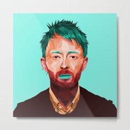 Thom Yorke Metal Print
